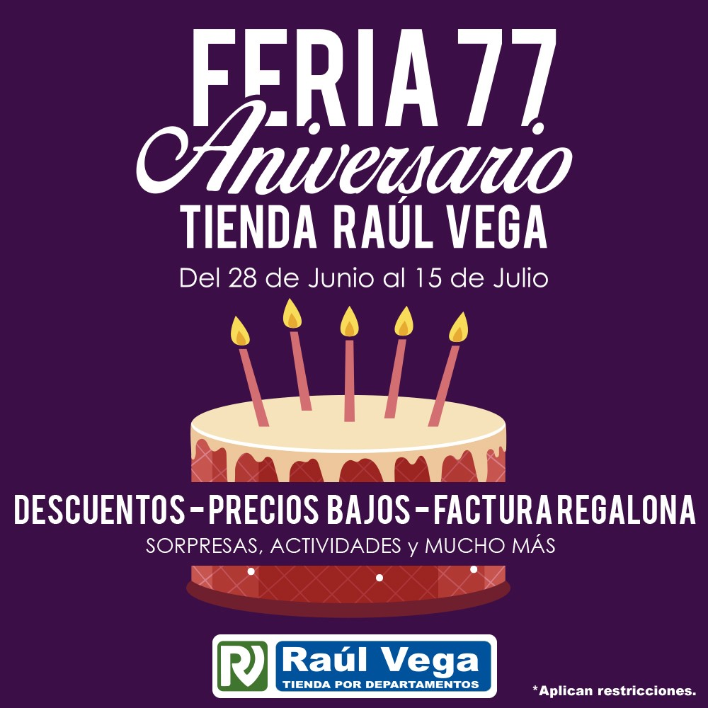 Promoción Raúl Vega